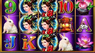 EXOTIC MOON Video Slot Casino Game with a RETRIGGERED EXOTIC MOON FREE SPIN BONUS