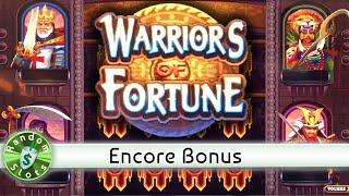 Warriors of Fortune slot machine, Encore Bonus