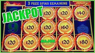 HIGH LIMIT Dragon Link Golden Century MAJOR JACKPOT HANDPAY $20 BONUS ROUND Slot Machine Casino