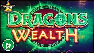 ️ New - Dragons Wealth slot machine, wheel spins