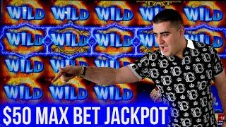 High Limit Slot Machine HANDPAY JACKPOT - $50 A Spin | Winning Money On Slots | SE-4 | EP-24