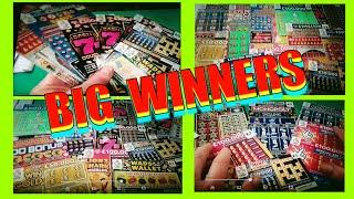 AMAZING BIG WINNERS...SCRATCHCARDS........FANTASTIC AMOUNT OF SCRATCHCARDS.......