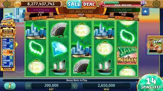 JADE MONKEY Video Slot Casino Game with a FREE SPIN BONUS