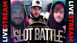 LIVE SUNDAY SLOTS BATTLE! Josh | Jamie | Scotty |  Top 10 Slots of 2020!