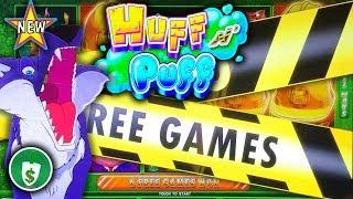 •️ New - Huff n' Puff slot machine, bonus