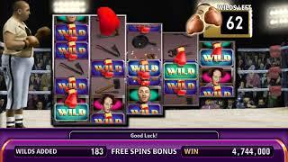 THE THREE STOOGES Video Slot Casino Game with a FIGHT NIGHT FREE SPIN BONUS