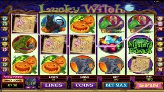 FREE Lucky Witch   slot machine game preview by Slotozilla.com