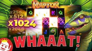 RAPTOR SLOT  BEAST HIT!!