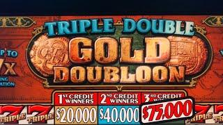 $15/$30 SPIN TRIPLE GOLD DOUBLOON, High Limit Live Play $!$!