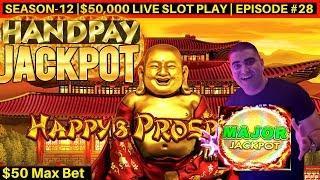 High Limit DRAGON LINK Slot Machine HANDPAY JACKPOT -$50 Max Bet   Season-12   Episode #28
