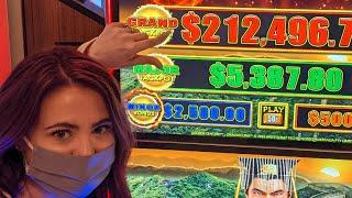 LIVE From HARD ROCK TAMPA! HIGH LIMIT JACKPOTS!!