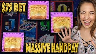 MASSIVE HANDPAY JACKPOT on Lightning Link High Stakes!