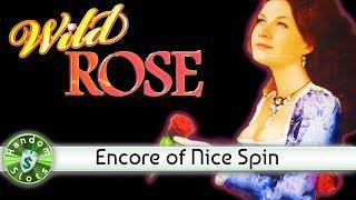 Wild Rose slot machine, Encore