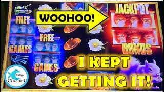 What's more fun than a JACKPOT BONUS on Walking Dead? THREE OF THEM IN THE SAME SESSION! w/DDE!