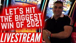 LIVE ! $100 A Spins Bonuses ! High Limit LIVE STREAM Slot Play