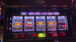 Crazy Winners $30/Spin - 5 Reel Double Jackpot $25/Spin - Old School High Limit Slots ONLY!!!