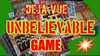 """UNBELIEVABLE GAME.MEGA CASHWORD """"RAINBOW BINGO""""WONDERLINES""""£100 LOADED""""REDHOT BINGO""""5X CASH""""WIN £50"""""""