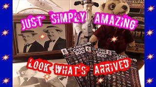Wow!...Just Amazing..Look What Robert sent...Scratchcards...Pigs..And.?????....WhooooOOOOOOO!!