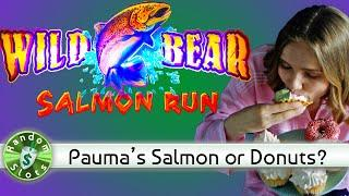 Wild Bear Salmon Run slot machine bonus