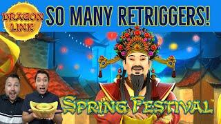 How many RETRIGGERS can we get on Spring Festival Autumn Moon? Plus a BIG WIN on Autumn Moon