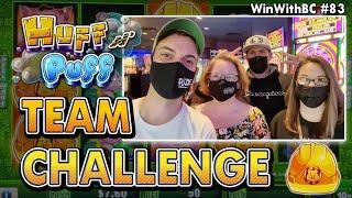 Huff N' Puff Team Challenge   Kings VS Queens