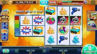 RETURN TO PLANET LOOT Video Casino Slot Game with a FREE SPIN BONUS