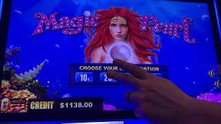 Magic Pearl $25/Spin - Double Top Dollar $50/Spin - Pinball $30/Spin