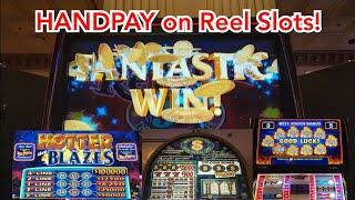 Handpay Jackpot on Hotter Than Blazes Respin - Reel Slot Madness!