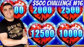 Max Bet BONUSES On Lock It Link Slot ! $500 Challenge To Win At Casino EP-16