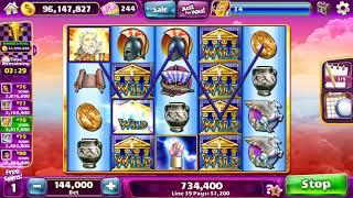 ZEUS II Video Slot Casino Game with a FREE SPIN and SUPER RESPIN BONUS