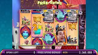 PEE-WEE'S PLAYHOUSE Video Slot Casino Game with a PEE-WEE FREE SPIN BONUS