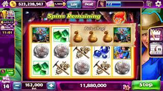 HOT HOT PENNY GEM HUNTER Video Slot Casino Game with a RETRIGGERED FREE SPIN BONUS