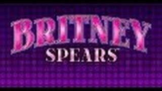 Aristocrat Britney Spears Slot Machine bonus Round OOPS!