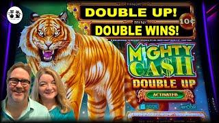 MIGHTY CASH DOUBLE UP  DOUBLE WINS!