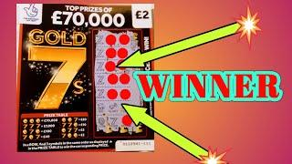 """SUCH A FANTASTIC SCRATCHCARD GAME...WITH LOTS OF WINNERS..""""WOW""""....£100s of Scratchcards..."""