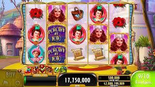 THE WIZARD OF OZ DOROTHY & TOTO Video Slot Casino Game with an EPIC WIN FREE SPIN BONUS