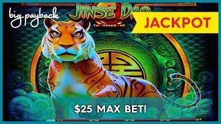 SURPRISE JACKPOT, WOW!! Jinse Dao Tiger Slot - $25 MAX BET!