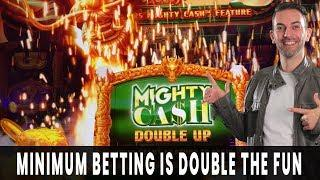 MAX FUN on Min Bet  Mighty Cash DOUBLE UP  PLUS DOUBLE on FarmVille