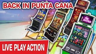 The BEST SLOTS Are BACK at Hard Rock Punta Cana  Fun, Sun, and WINS?