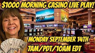 $1000 Morning Casino Winning Slot Live Play