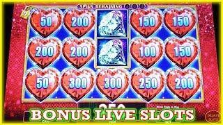 LOCK IT LINK  DIAMONDS DRAGON  LINK BONUS LIVE PLAY SLOTS