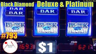 High Limit Slots  Which is better? Black Diamond Deluxe Slot or Platinum Max Bet Bonus Game 赤富士スロット
