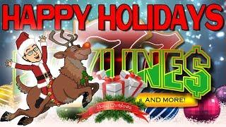 CHRISTMAS SPECIAL WITH PAYLINES SLOT CHANNEL
