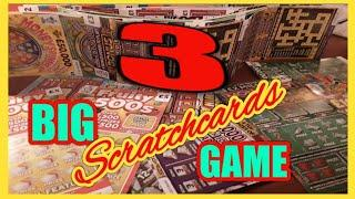 """THE BIG GAME.""""""""SCRATCHCARDS""""""""..& PRIZE DRAW..WOW!..50X CASH..MONOPOLY..WONDERLINES..£20,00 MONTH"""