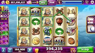 ZEUS II Video Slot Casino Game with a SUPER RESPIN BONUS