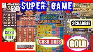 AMAZING Long Scratchcard Game..PACKED WITH CARDS...WOW!.. mmmmmmMMM