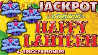 Lighting Link Best Bet & Happy Lantern HANDPAY JACKPOT ~ HIGH LIMIT $50 Bonus Rounds Slot Machine