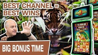 Jinse Dao TIGER = HANDPAY  The BEST Slot Channel Brings The BEST Wins