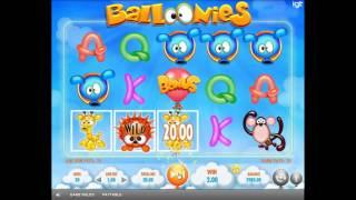 Ballonies slot by IGT - Gameplay
