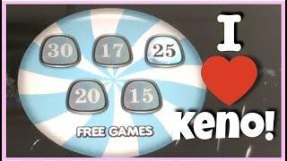 MORE KENO WINS!! CANDY BAND and CIRCUS keno at DOTTY'S!